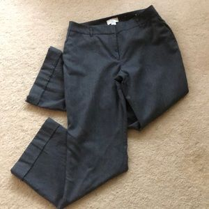 LOFT Julie gray wool pants. Size 6 petite.